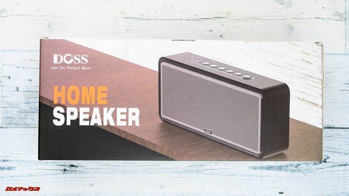 DOSS Sound Box XLは大型製品なので化粧箱も凄く大きい