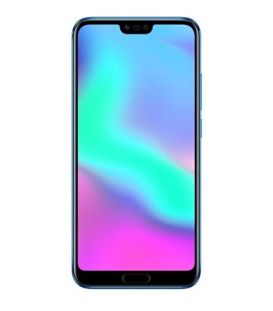 Huawei Honor 10のディスプレイは19:9の縦長ディスプレイでiPhone Xのような切り欠けディスプレイを採用しています。