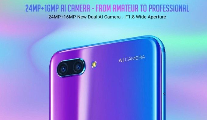 Huawei Honor 10はAIカメラを搭載!