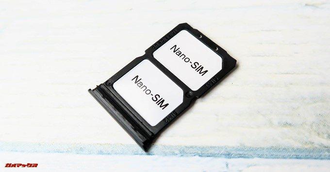 OnePlus 6のSIMトレイはNanoSIMが2枚しか入らないのでMicroSDは利用できない
