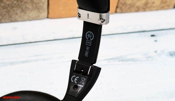 Mpow H5は技適取得済みです。L側のバンドを伸ばすと内側に技適マークが付いています。