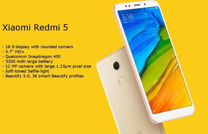 Xiaomi Redmi 5 Global Version
