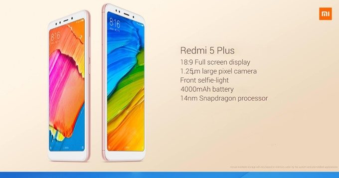 Xiaomi Redmi 5 Plus Global Version