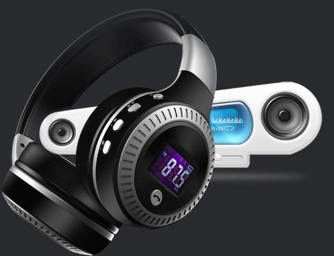 ZEALOTのFM搭載BluetoothヘッドホンB19