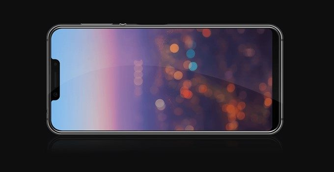 Elephone A4 Proは先進的な切掛けディスプレイを採用しています