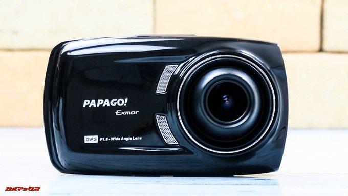 GoSafe S36G1の本体は美しい光沢のあるブラックボディーです。