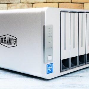TerraMaster F4-220のレビュー!最大48TB対応のNASキット!