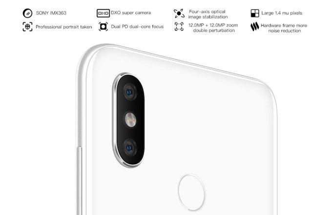 Xiaomi Mi 8はDXOMARK MOBILEでも高評価を得たダブルレンズカメラを搭載しています。