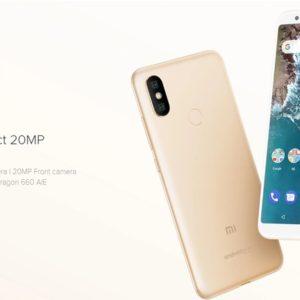 Xiaomi Mi A2のスペックと割引クーポン、最安値のまとめ!