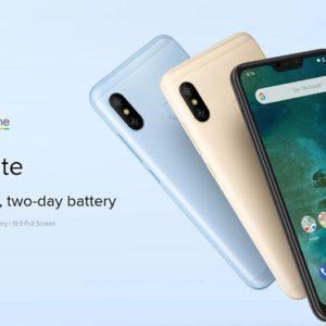 Xiaomi Mi A2 Liteのスペックと割引クーポン、最安値のまとめ!