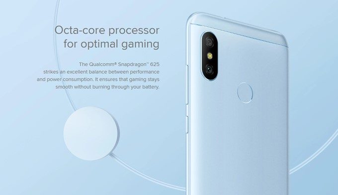 Xiaomi Mi A2 LiteはSnapdragon 625を搭載