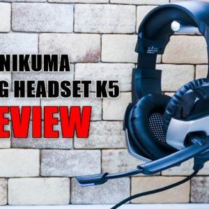 ONIKUMAゲーミングヘッドセットK5の実機レビュー!
