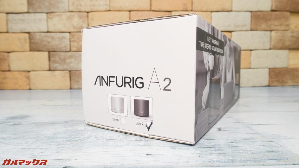 Anfurig A2のColorは2種類