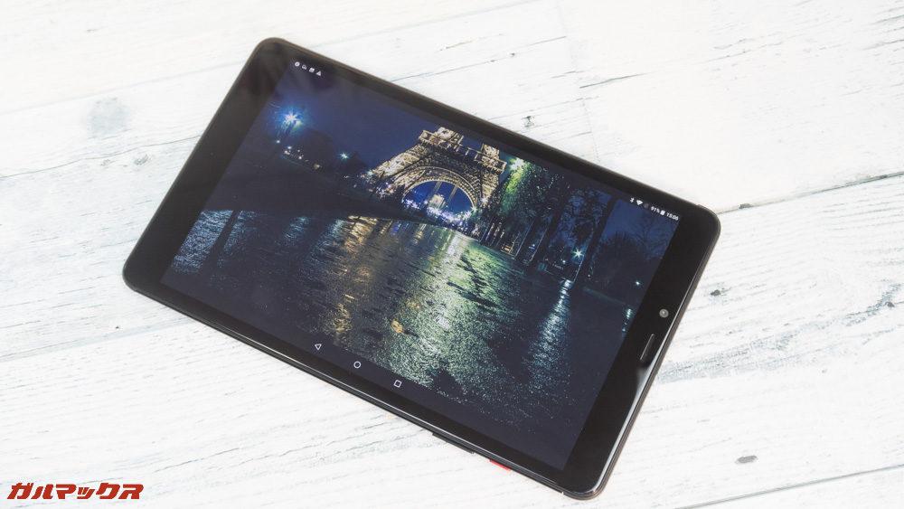 CHUWI Hi9 Proの実機で2K写真を表示!凄く綺麗!