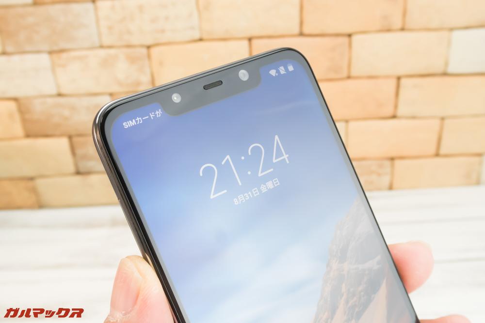 Xiaomi Poco F1の顔認証は相当早い