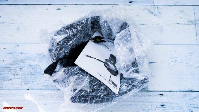ONIKUMAゲーミングヘッドセットK5は結構適当な梱包