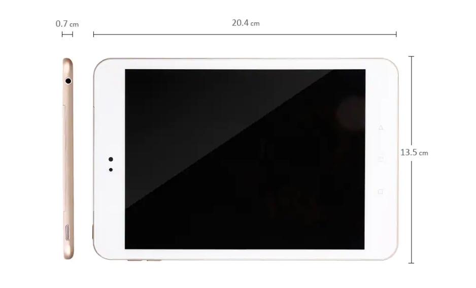 Alfawise Tabは8インチサイズでコンパクト