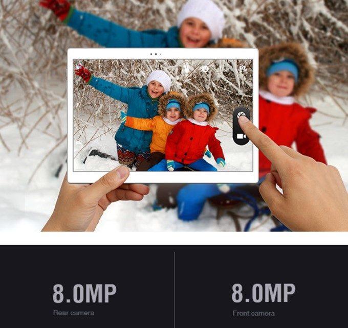 Alldocube Xは800万画素カメラを搭載