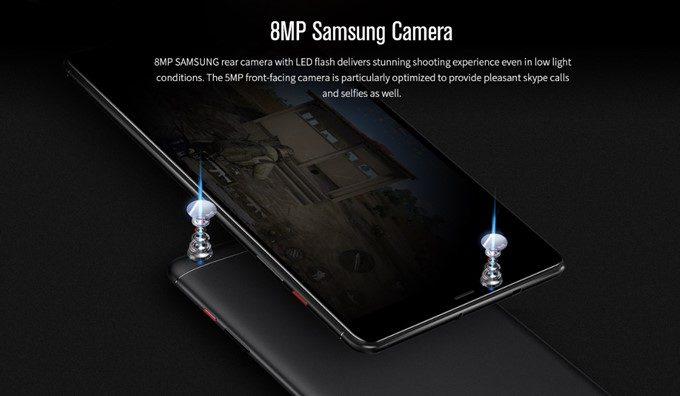 CHUWI Hi9 ProのカメラはSAMSUNGカメラを搭載しています。