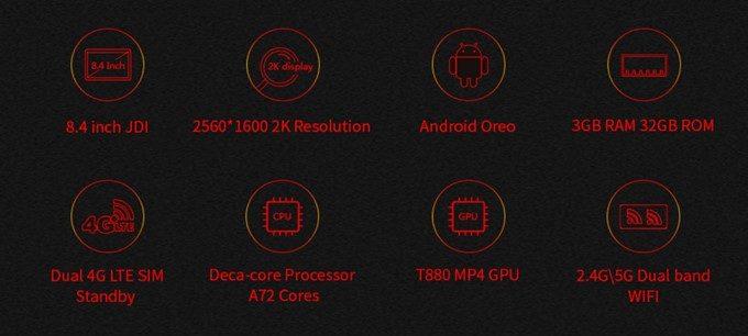 Chuwi Hi9 Proのスペック