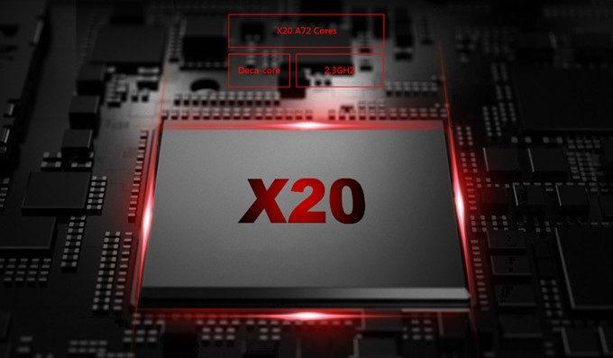 CHUWI Hi9 Proは高性能なミドルハイスペック性能を持つHelio X20を搭載しています。