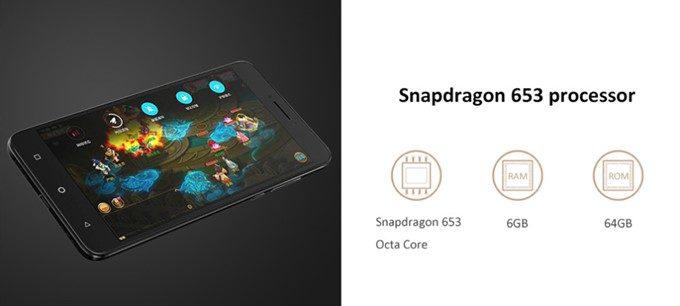 Coolpad Cool Play 6はSnapdragon 653、メモリ6GB、保存容量64GBを搭載する高コスパスマートフォン