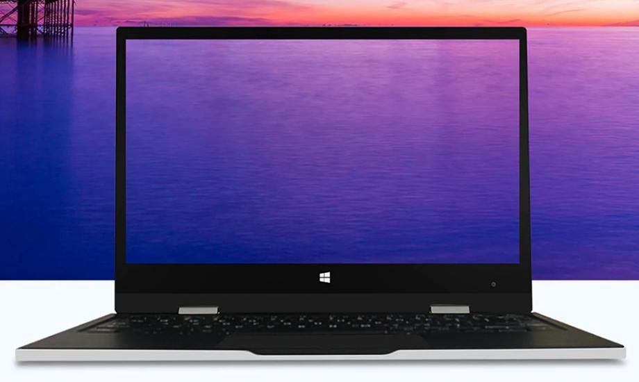 Jumper EZbook X1のディスプレイは11.6型でコンパクト。しかもFHDパネルでIPS仕様です。