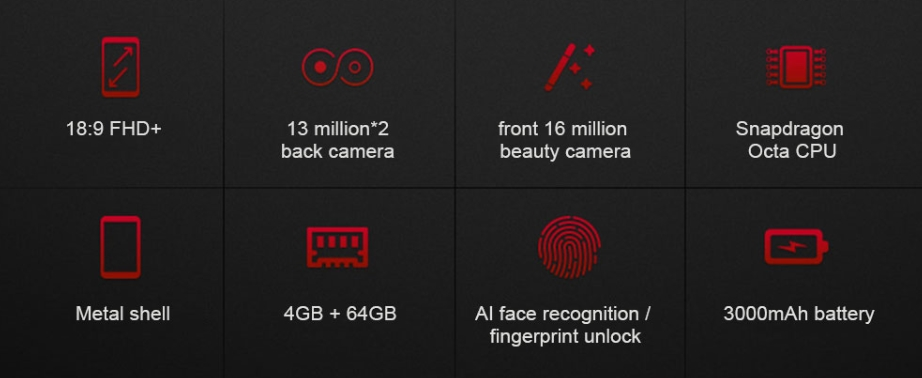Lenovo S5のスペック