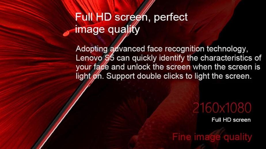 Lenovo S5はFHD+の解像度でドットの粗さも気にならない