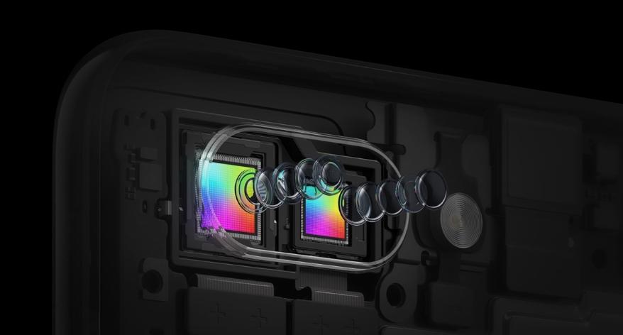 OPPO R15 ProはSONYのフラッグシップセンサーであるIMX 519を採用