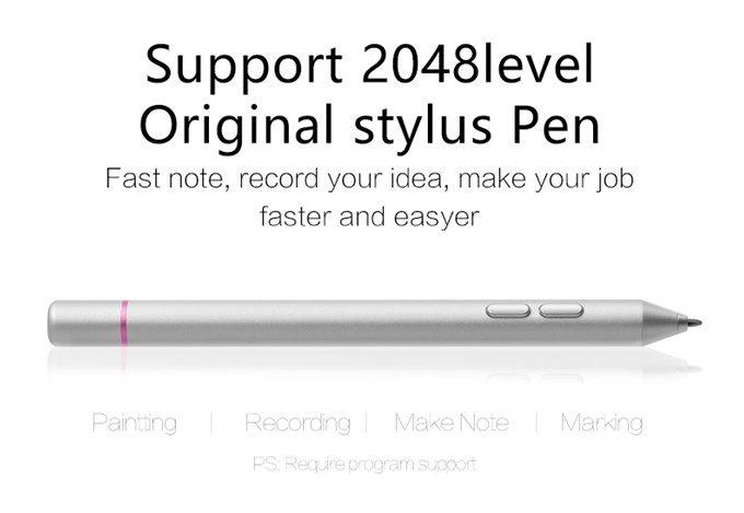 One Netbook One Mixはスタイラスペン入力にも対応しています。ペンは別売り