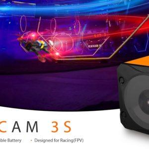 重量わずか69g!RunCam 3Sアクションカメラ