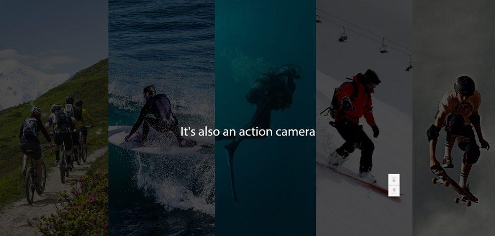 RunCam 3SはRC搭載以外にアクションカメラとしても利用可能です。