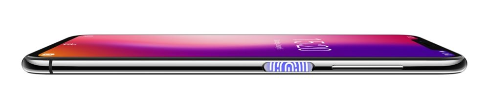 [UMIDIGI One]と[UMIDIGI One Pro]の指紋認証ユニットは本体の右側面に備わっています。