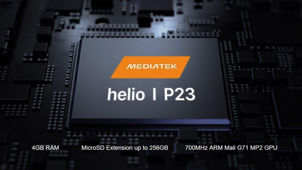 [UMIDIGI One]と[UMIDIGI One Pro]はP23を搭載。設定で性能が絞られている可能性が高い