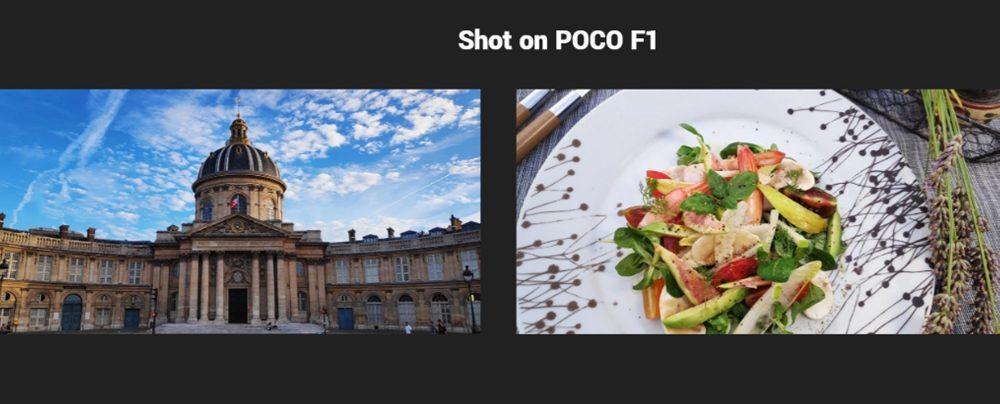 Xiaomi Poco F1はAIによりSNSに即アップ出来る程の美しい写真が撮影可能となっています。
