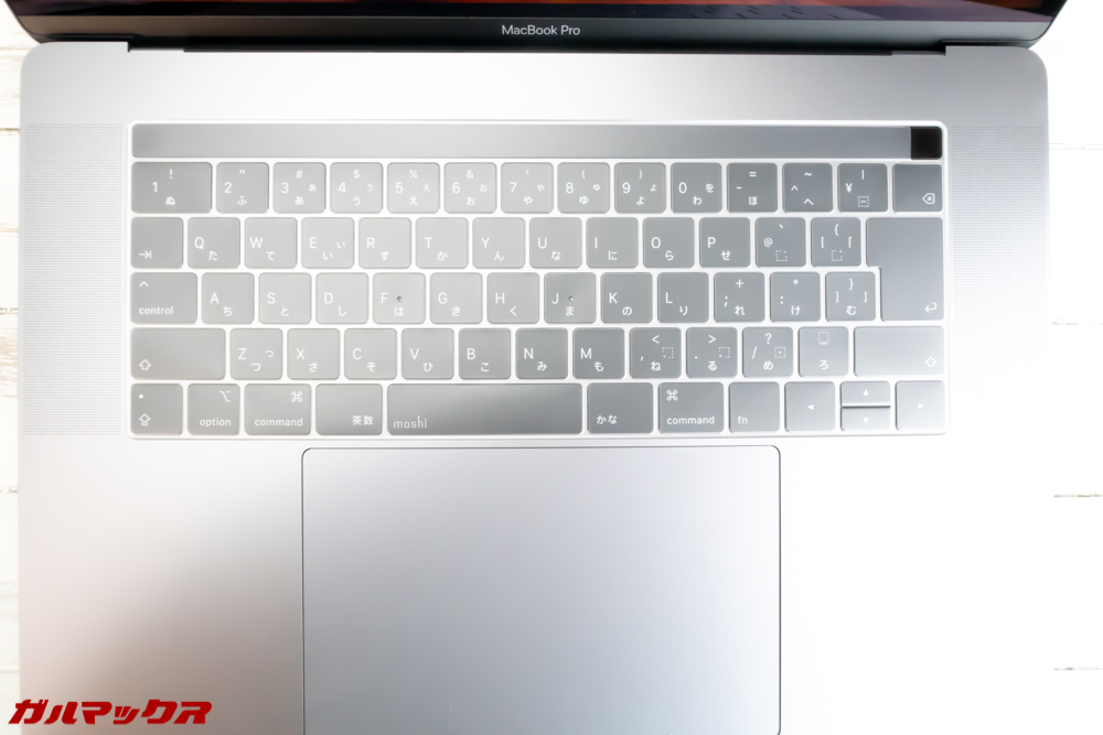 MacBook/ProのTouch Bar搭載キーボードカバー