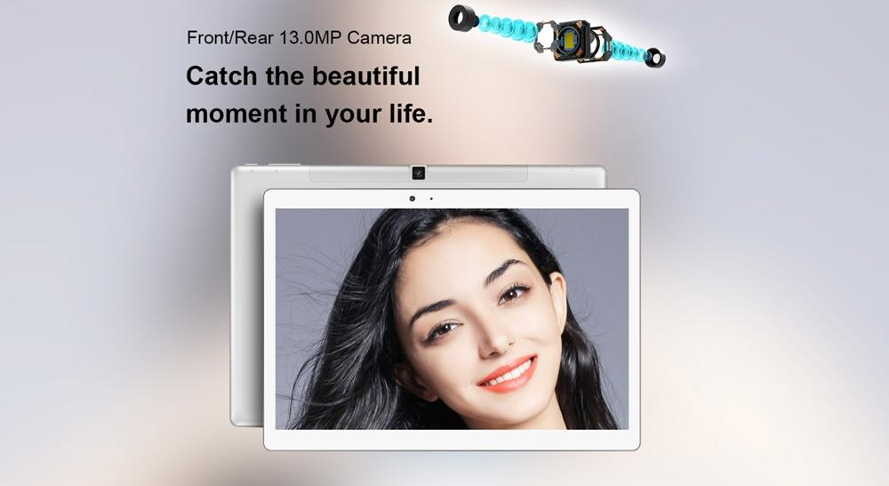 Teclast T20は前後に1300万画素カメラを搭載しています!