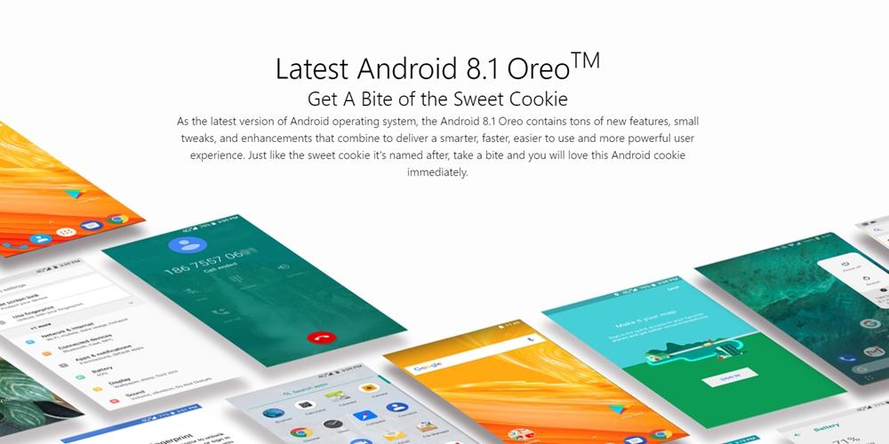 Ulefone Power 5はAndroid 8.1を採用しているので便利機能もたくさん使えます。
