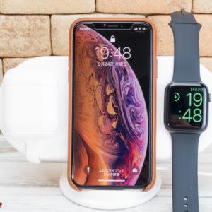 iPhone、Apple Watch、AirPodsを同時に充電出来るワイヤレス台「Vinpok Plux」が発売開始!