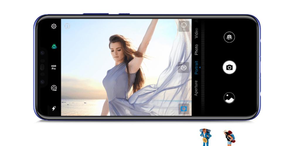 インカメラは逆光でも美しい写真を撮影出来るHDR Proに対応している