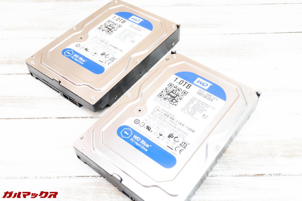 DS918+に搭載するHDDはサーバー用が本当はオススメです。