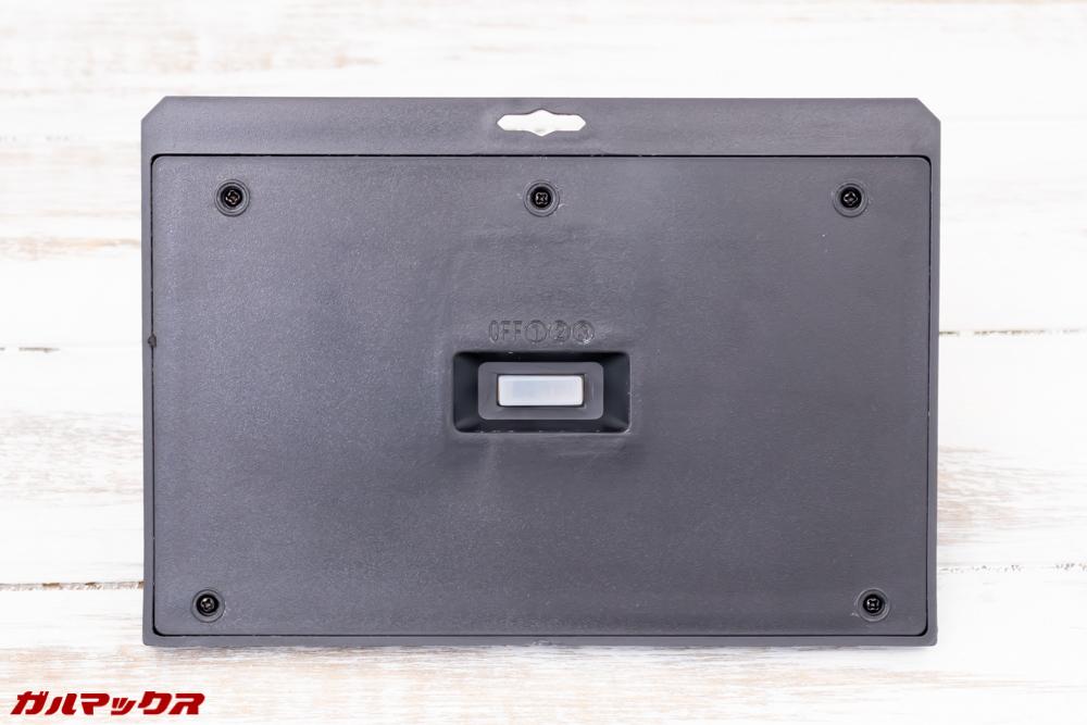 GOKU 48 LEDの本体背面には3つの点灯モードを切り替えることの出来るスイッチが備わっています。