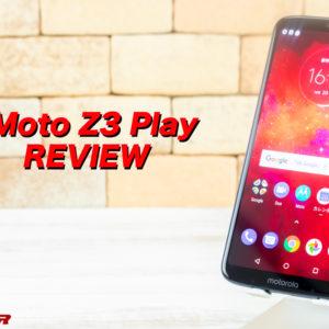 Moto Z3 Playの実機レビュー!スペック、機能、価格、最安値まとめ!