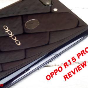 OPPO R15 Proのレビューとスペック、仕様の評価。対応バンドと価格