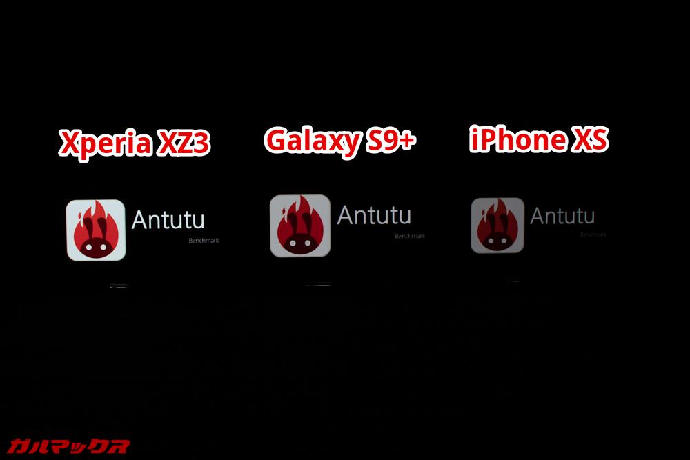 Xperia XZ3は有機ELのディスプレイの中でも非常にキレイな部類