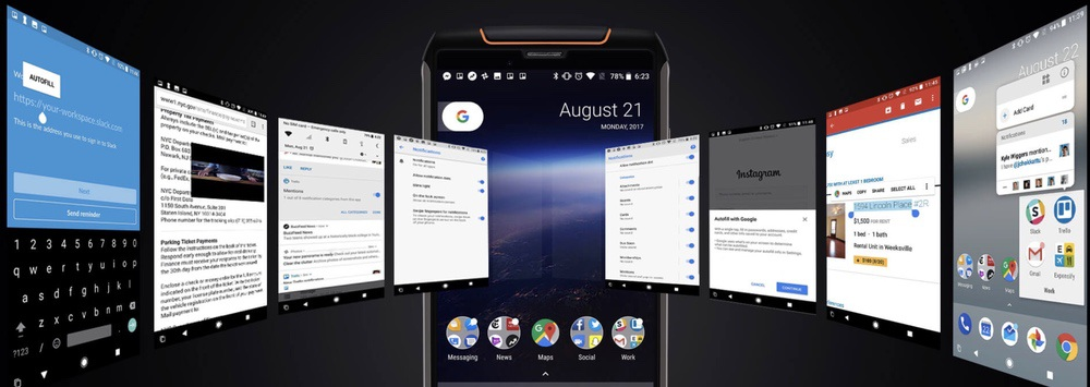 CUBOT King Kong 3はAndroid 8.1を搭載!