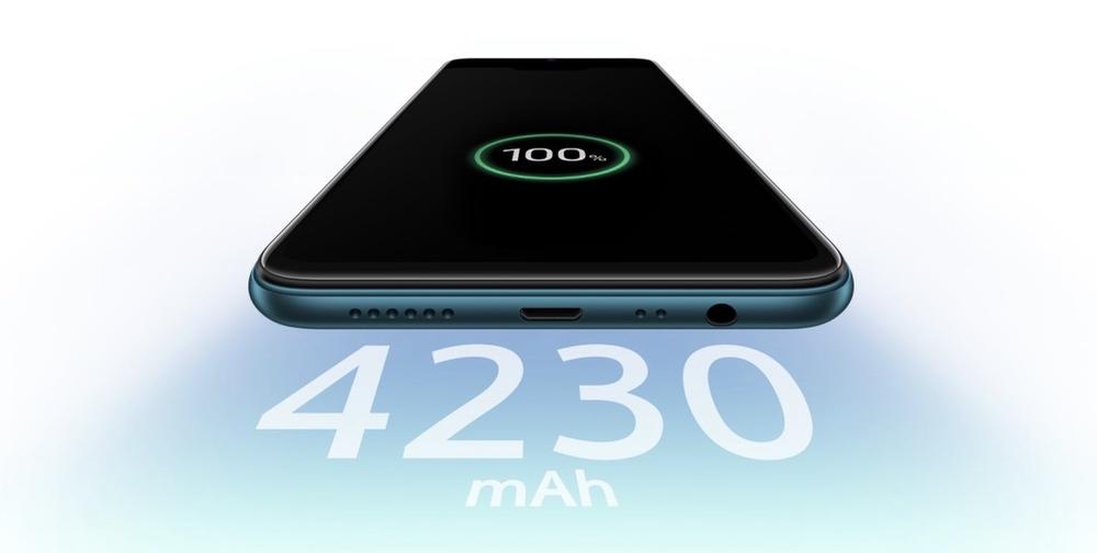 OPPO AX7は4230mAhの大容量バッテリーを搭載。