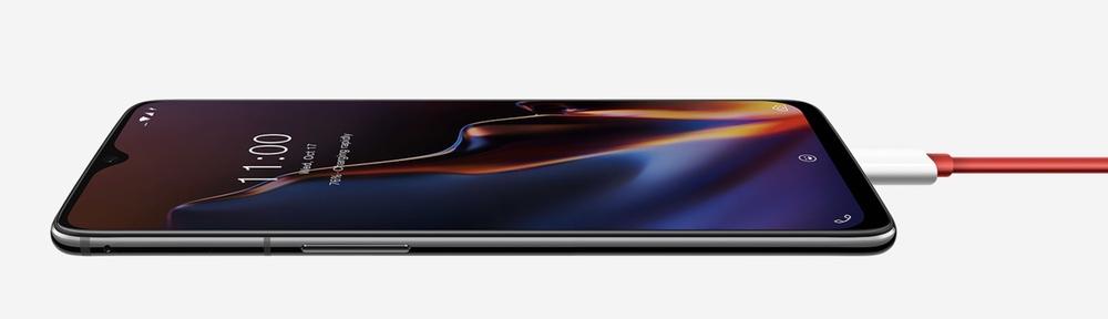 OnePlus 6Tは5V4Aの急速充電に対応