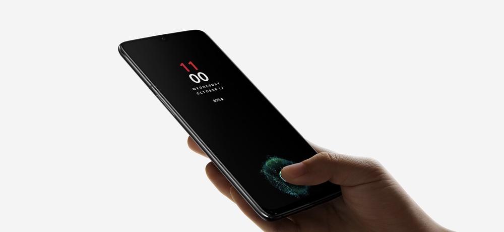 OnePlus 6Tはディスプレイ内蔵型の指紋認証ユニットを搭載